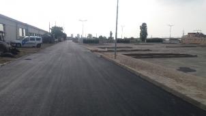 Полагане на асфалт