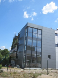 Хьорман окачена и вентилируема фасади