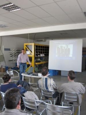Господин Румен Иванов представител на Хьорман България ЕООД ни запозна с новостите в продуктовата гама