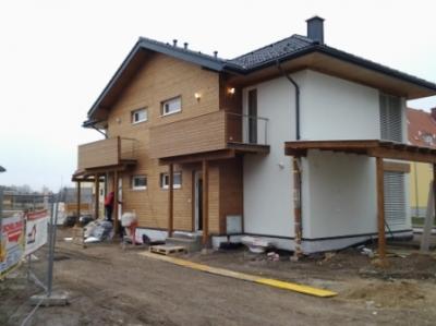 Изглед на две фасади
