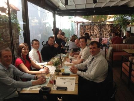 Обяд и продължаване на срещата