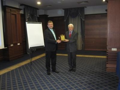 Кирил Желязков - почетен член на сдружение БВПФ