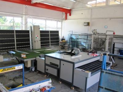 Нова линия за стъклопакети с гъвкав дистанционер - преса от линията