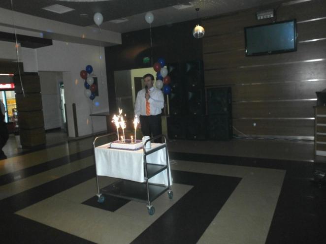 инж. Димитър Иванов благодари за присъствието на всички гости и партньори  в този важен момент и им пожела здраве и успехи