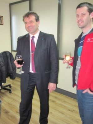 Семинар Бургас - разговори на чаша вино