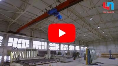 Видео стъкларски цех